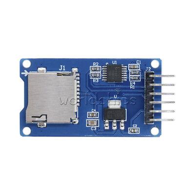 10pcs 3.3v Spi Mciro Sd Tf Card Memory Shield Module Storage Board For Arduino