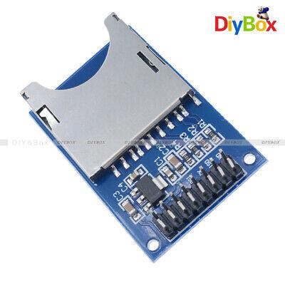 10pcs Read Write Sd Card Module Slot Socket Reader Adapter For Arduino Arm Mcu