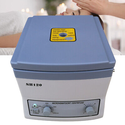 100w High Speed Sh-120 Microhematocrit Lab Centrifuge Electric Medical 12000rpm
