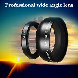 58mm 0.45X Super Wide Angle Lens for Canon EOS 1100D 550D 600D 500D kit