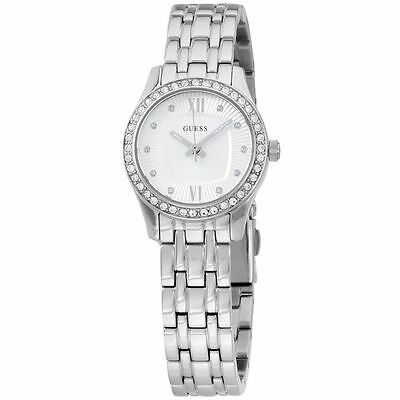 Guess Women's Analog Silver Dial Stainless Steel Watch W0762L1