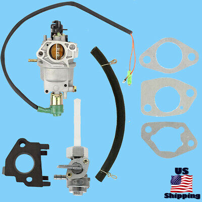 All Power Carburetor W Solenoid Petcock For Apg3590cn Apg3560cn Generator