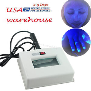 Exam Skin UV Magnifying Analyzer Wood Lamp Beauty Test Facial Care Machine USA