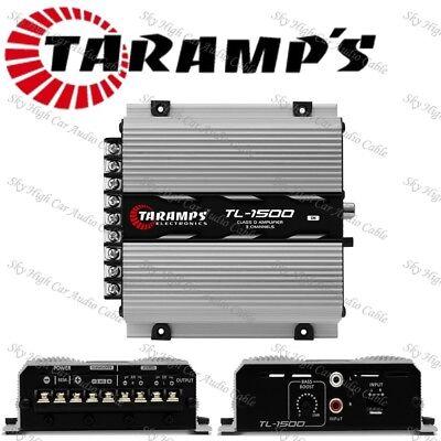 Taramps TL 1500 2 Ohms Amplifier TL1500 390 Watts 3 Channels Amp
