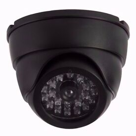Dome CCTV Camera. Realistic looking for Home / Office Security. DIY Project. Boxed
