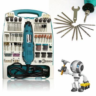 226-tlg Schleifgerät Multifunktionswerkzeug Mini Schleifer Schleifmaschine Set#