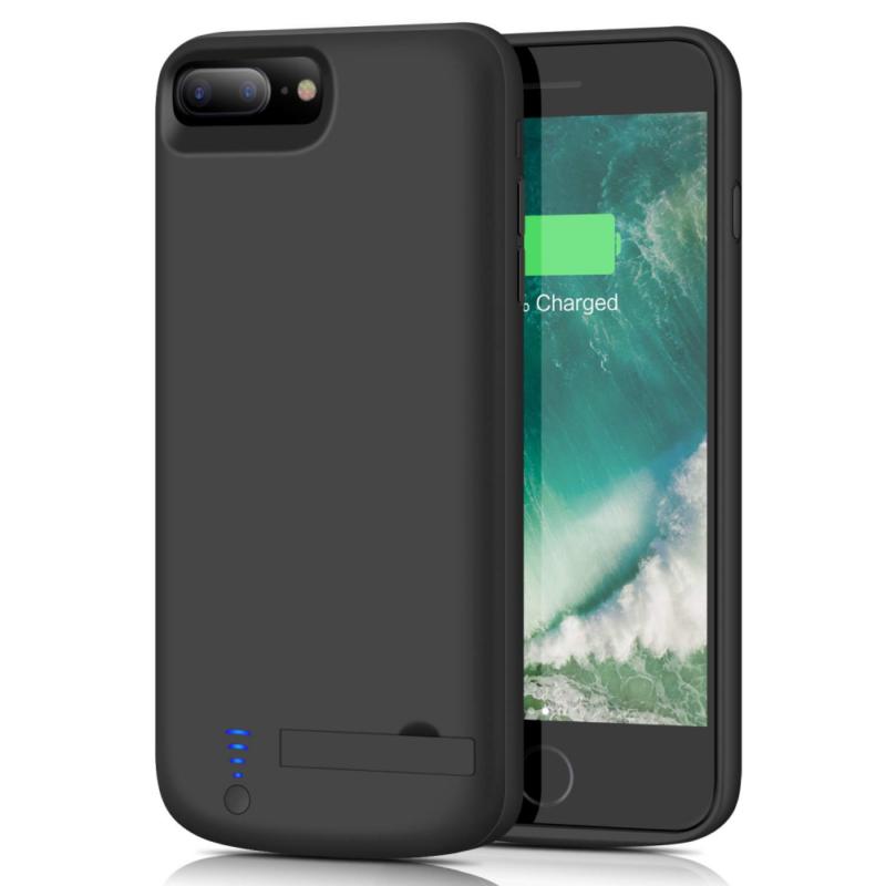 8500mAh Battery Case for iPhone 8plus//7plus//6 Plus//6s Plus Protective Portable Charging Case Rechargeable Extended Battery Pack for Apple iPhone 8plus//7plus//6 Plus//6s Plus - Red Upgraded 5.5