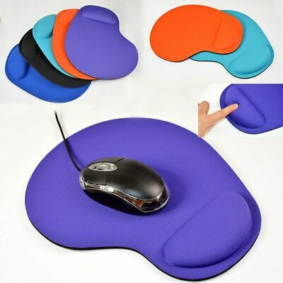 Support Game Mat Soft Gel For Computer PC Laptop Mouse Pad With Wrist Rest