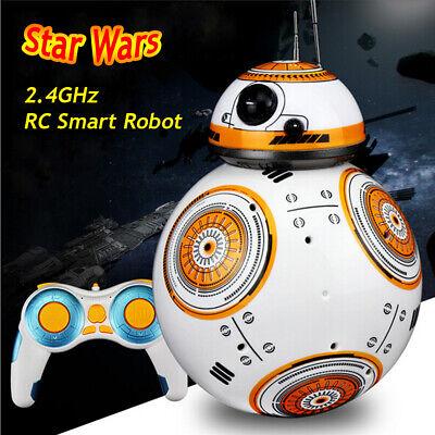 Star Wars Rc (Star Wars BB-8 RC Robot Rmote Control With Sound Kids Toy Intelligent Ball)