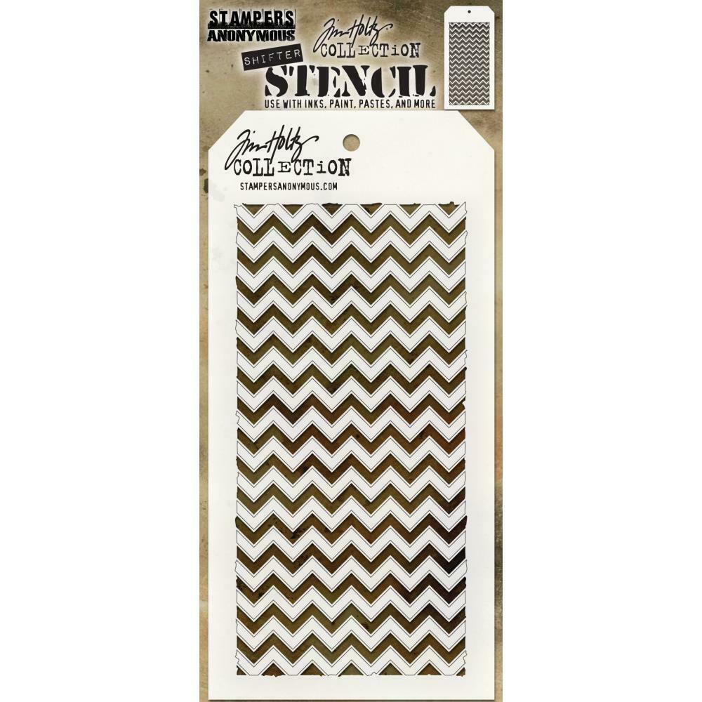 Tim Holtz Layering Stencil ~ FEATHER ~ THS079 ~ Stampers Anonymous