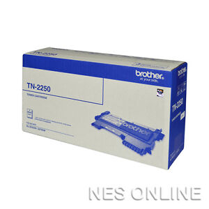 Brother Genuine TN-2250 High Yield Toner DCP-7060D DCP-7065DN MFC-7860DW 2.5K