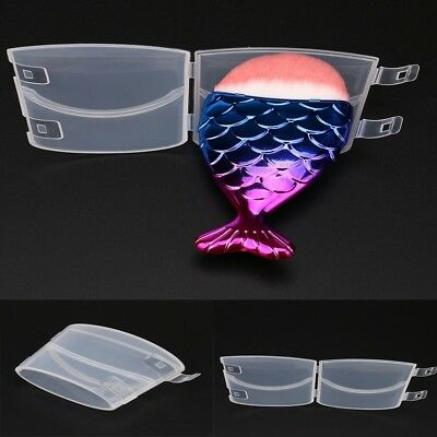 Fish Scale Makeup (Mermaid Fish Scale Makeup Brush Fishtail Bottom Brush Protection Box Cover)