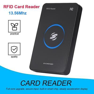 R80c-usb Idm1 Nfc Rfid Smart Card Reader 13.56mhz For Door Access System