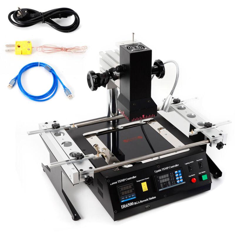 IR6500 BGA Rework Station Repair Heating Soldering Infrared Reballing Machine EU