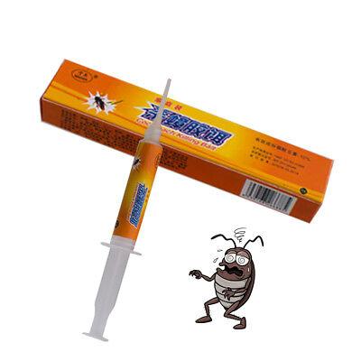 10g Cockroach Killer Roach Bait Gel Poison Home Kitchen Pest Control Syringe Hot