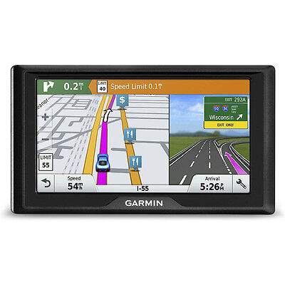 Garmin 010 01533 0B Drive 60Lmt Gps Navigator  Us Only  With Maps Traffic