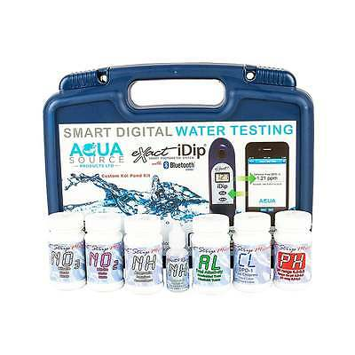Aqua Source eXact iDip Custom Koi Pond Water Test Kit