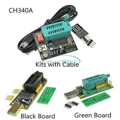 24 25 Spi Routing Lcd Flash Writer Ch341a Series Usb Programmer With Cables Diy