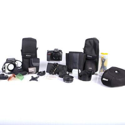 Lot of Nikon Digital / AF Cameras and Camera Accessories (UNTESTED) - (AI)