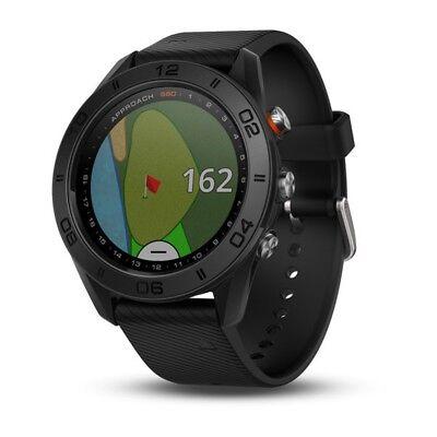 Garmin Approach S60 Preloaded Golf Range Finder GPS Watch 2017 - Black