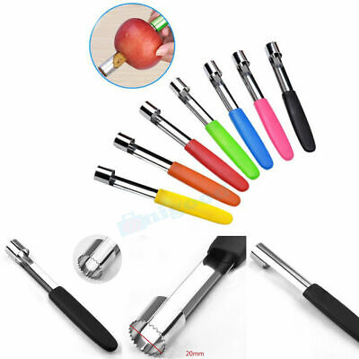 Fruit Core Seed Remover Apple Pear Corer Slicer Kitchen Stainless Steel Tool