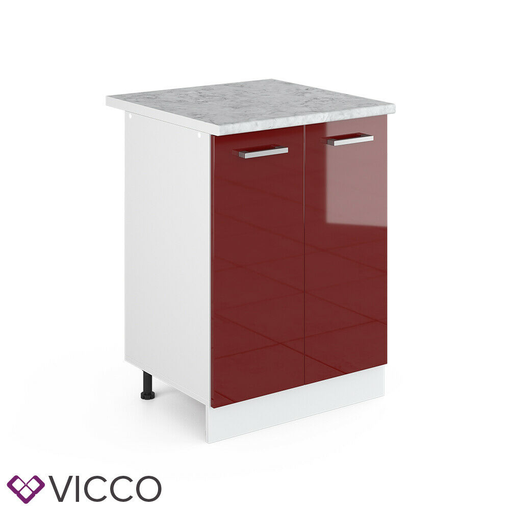VICCO Küchenschrank Hängeschrank Unterschrank Küchenzeile R-Line