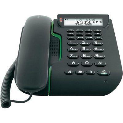 Teléfono inalámbrico con contestador automático Integrado Teclas Grandes Negro