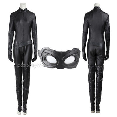Batman The Dark Knight Catwoman Selina Kyle Cosplay Costume Halloween Outfit](Halloween Catwoman Outfit)