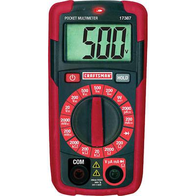 Craftsman Pocket Multimeter