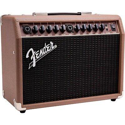 Fender Acoustasonic 40 40W 2x6.5 Acoustic Guitar Amplifier Brown LN