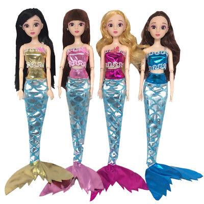 frau Schwanz Outfits Kleid & Top Set für 11 Zoll Baby Doll (Meerjungfrau Zoll)