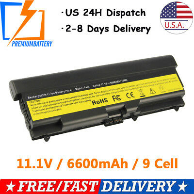 6/9 Cell Battery for Lenovo ThinkPad 70+ T430 T530 W530 L530 W520 45N1005