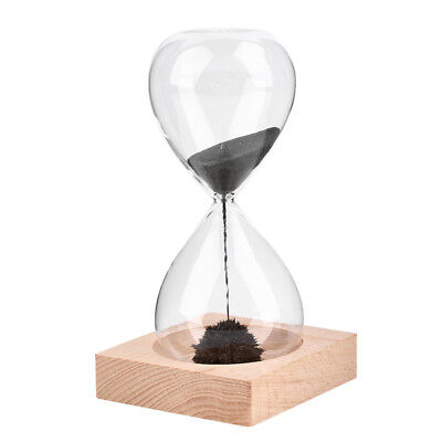 Magnetic Sand Timer Hourglass Desktop Toy Fun Office Gift Magentic Clock Decor ! - Fun Office