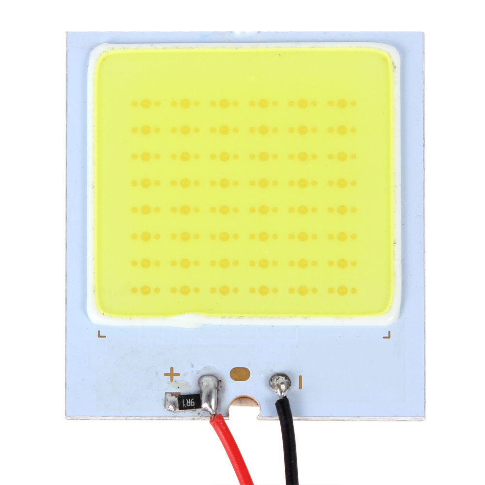 new white 48 smd cob led t10 4w 12v car interior panel light dome lamp bulb cad. Black Bedroom Furniture Sets. Home Design Ideas