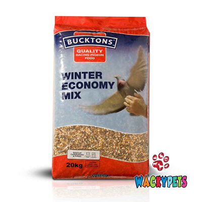 PIGEON FOOD FEED Bucktons Winter Economy Pigeon Feed 20kg. Quality (BUC008)