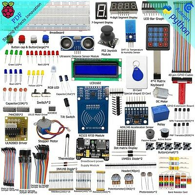 Adeept RFID Starter Kit for Raspberry Pi 3,2 Model B/B+ with 40-Pin GPIO Board
