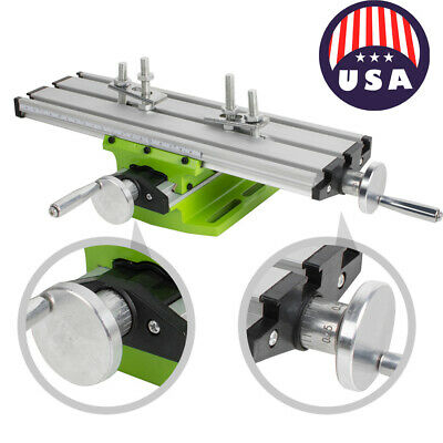 Milling Machine Cross Sliding Table Vise For Diy Lathe Bench Drill Usa