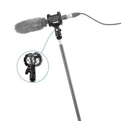 SmallRig Mikrofon Shock Mount elastische Halterung mit Cold Shoe für Shotgun neu