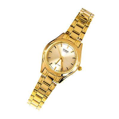 Casio LTP1275G-9A Women's Standard Analog Gold Tone Gold Dial Casual Dress Watch