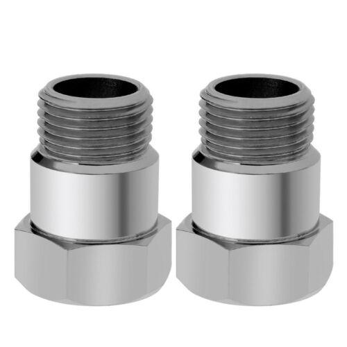 2Pack MiniCat O2 stainless oxygen sensor bung adapter extension extender M18-1.5