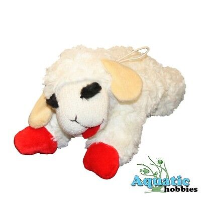 Multipet Lamb Chop Plush & Squeak Toy for Dogs & Puppies CHOOSE SIZE - Dog Plush Toys