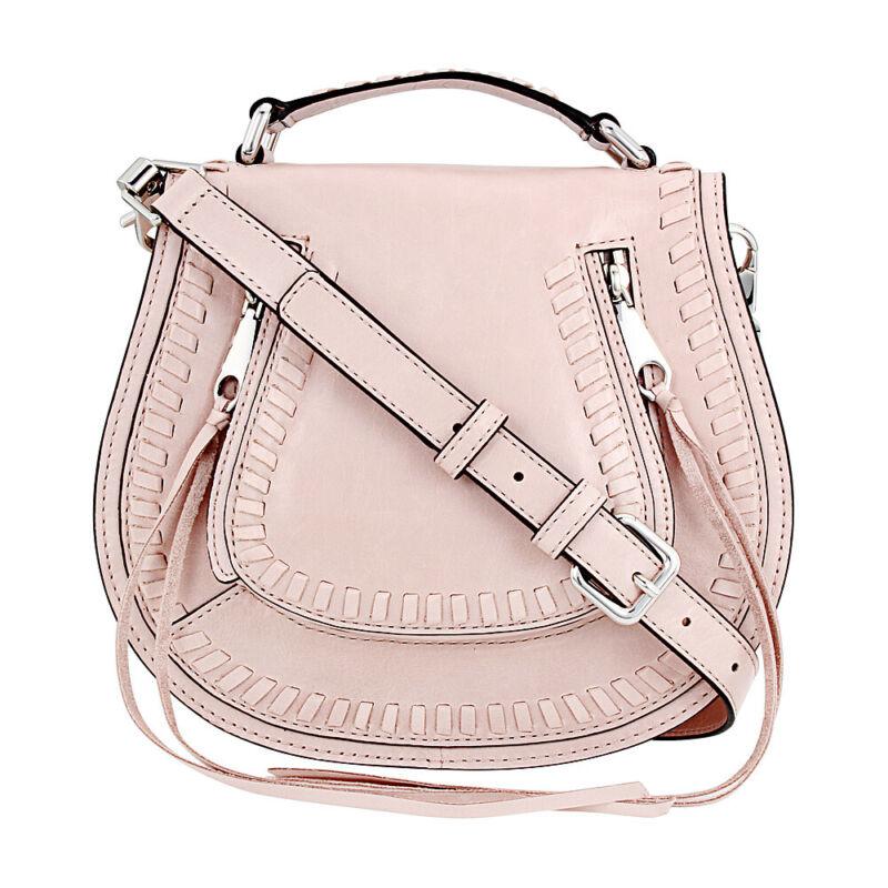 Rebecca Minkoff Vanity Ladies Small Leather Saddle Handbag HSP7EDSX42