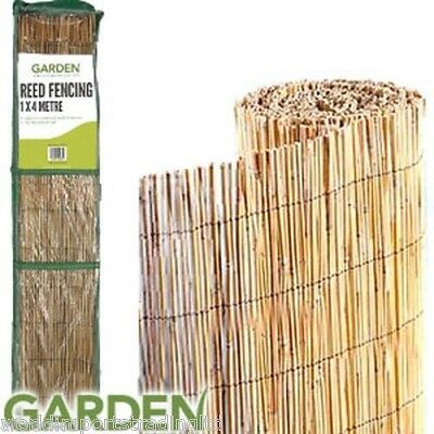 x 5, 4m X 1m Garden Reed Screening Garden fencing Wind Break Protection