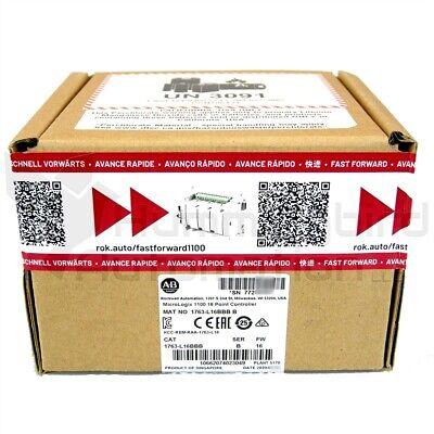 2020 New Sealed Allen Bradley 1763-l16bbb B Fw16 Micrologix 1100 Plc Controller