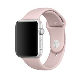 Apple Watch Strap - Pink Sand Sports Band 42mm