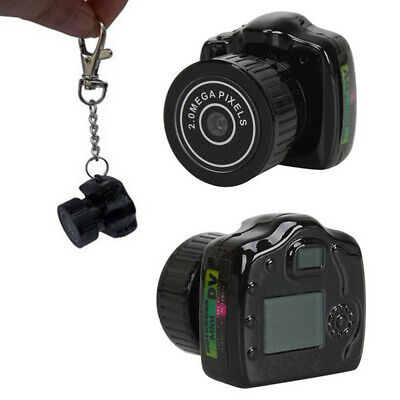 Digital Video Spy Kamera (Mini Digital HD DVR Spy Camera Camcorder Video Web Cam & 5*Steel Wire Keychain)