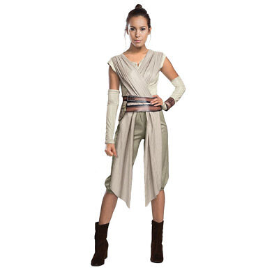 Deluxe Halloween Costumes For Women (Womens Deluxe Rey Star Wars Halloween)