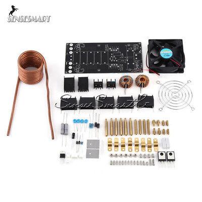 Zvs Induction Heating Board Module Heater Cooling Fan Diy Kit Dc12-36v 1000w 20a