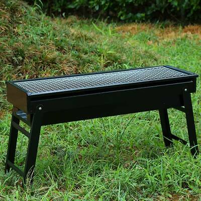 Large Charcoal BBQ Grill Portable Outdoor Picnic Cooking Barbecue Fire Pit Stove