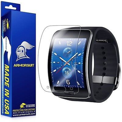 ArmorSuit MilitaryShield - Samsung Gear S Smartwatch Screen